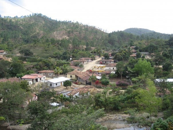 One of the remote villages in the mountains where a priest is only able to visit once a year